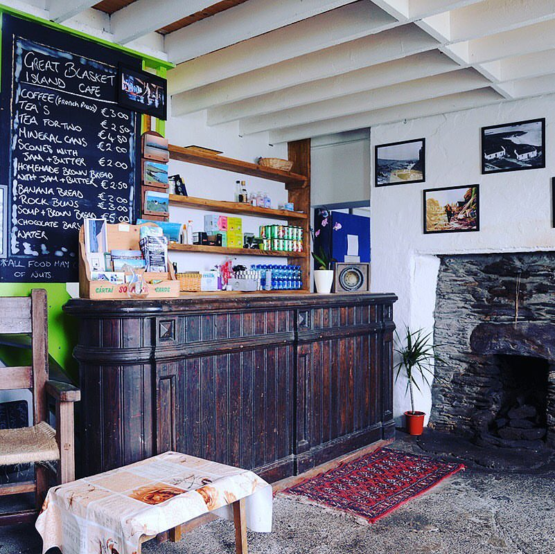 Great Blasket Island Coffee shop - Great Blasket Island