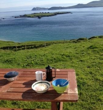 Cup of Coffee on the Great Blasket Island?