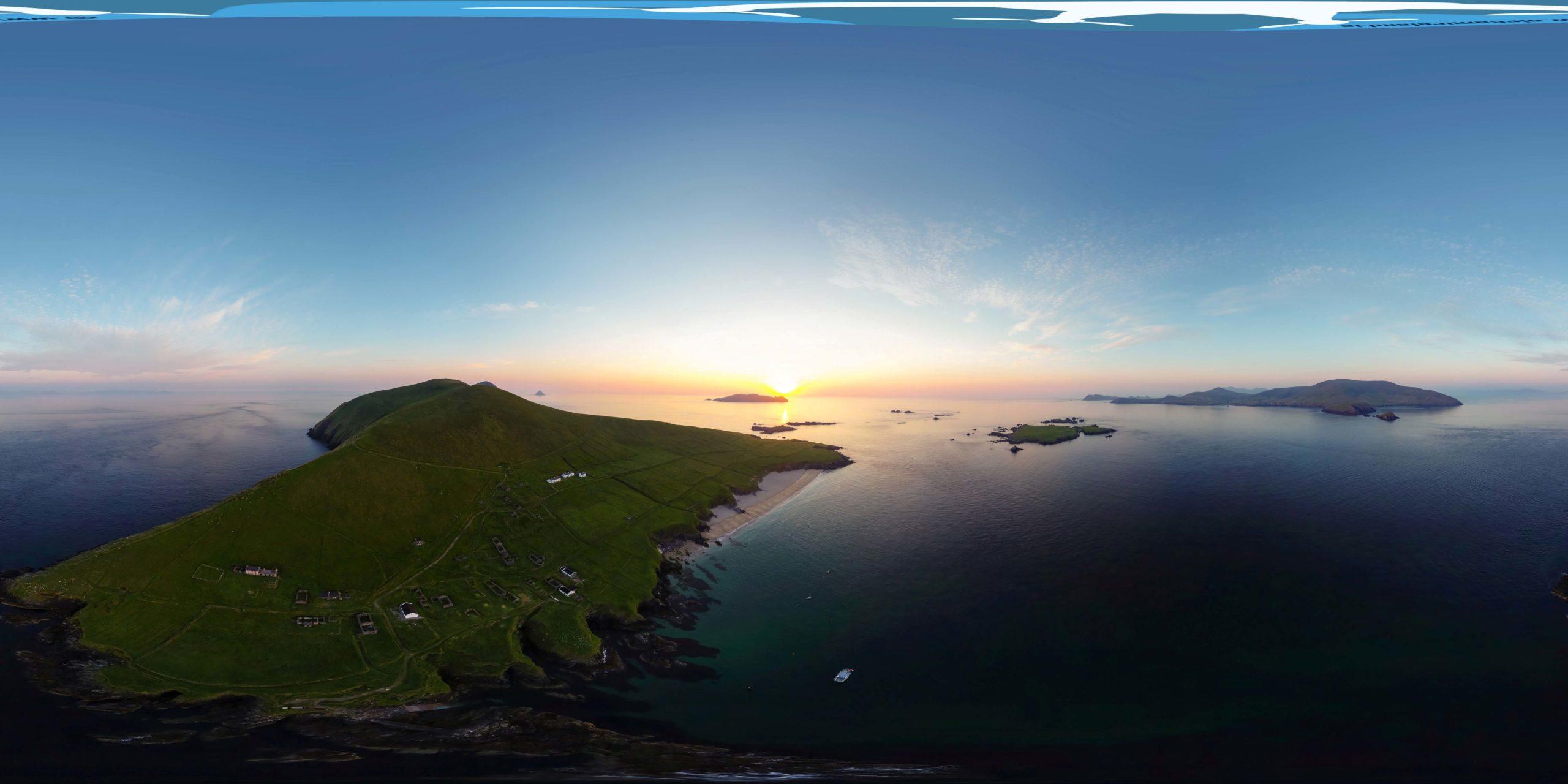 Great Blasket Island 360 view